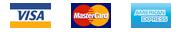 Visa. Master Card. American Express